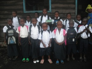 We sent 16 to school ths 2012-2013 school year. You sponsored them!