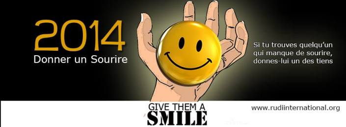 Logo Give Them A Smile 2014 in L'Shi
