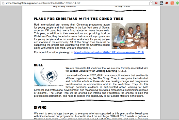 Screenshot from http://www.thecongotree.org.uk/featured/dec-2014-newsletter/