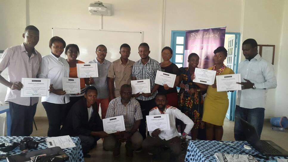 30 human rights activists trained in digital security in Lubumbashi and Kisangani